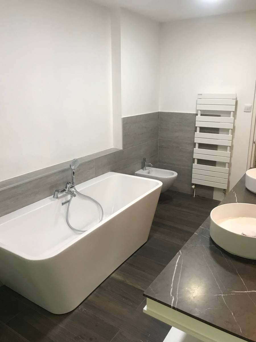 Salon De Bain Moderne rénovation d'une salle de bain à salon de provence - ludovic